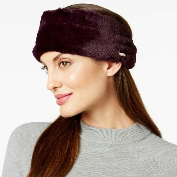 80616b1bfec Calvin Klein Accessories - NWOT CALVIN KLEIN Faux Fur Headband